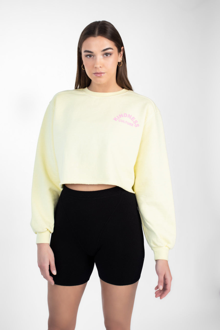 Cropped Crew  Sweatshirt - Kindness Culture