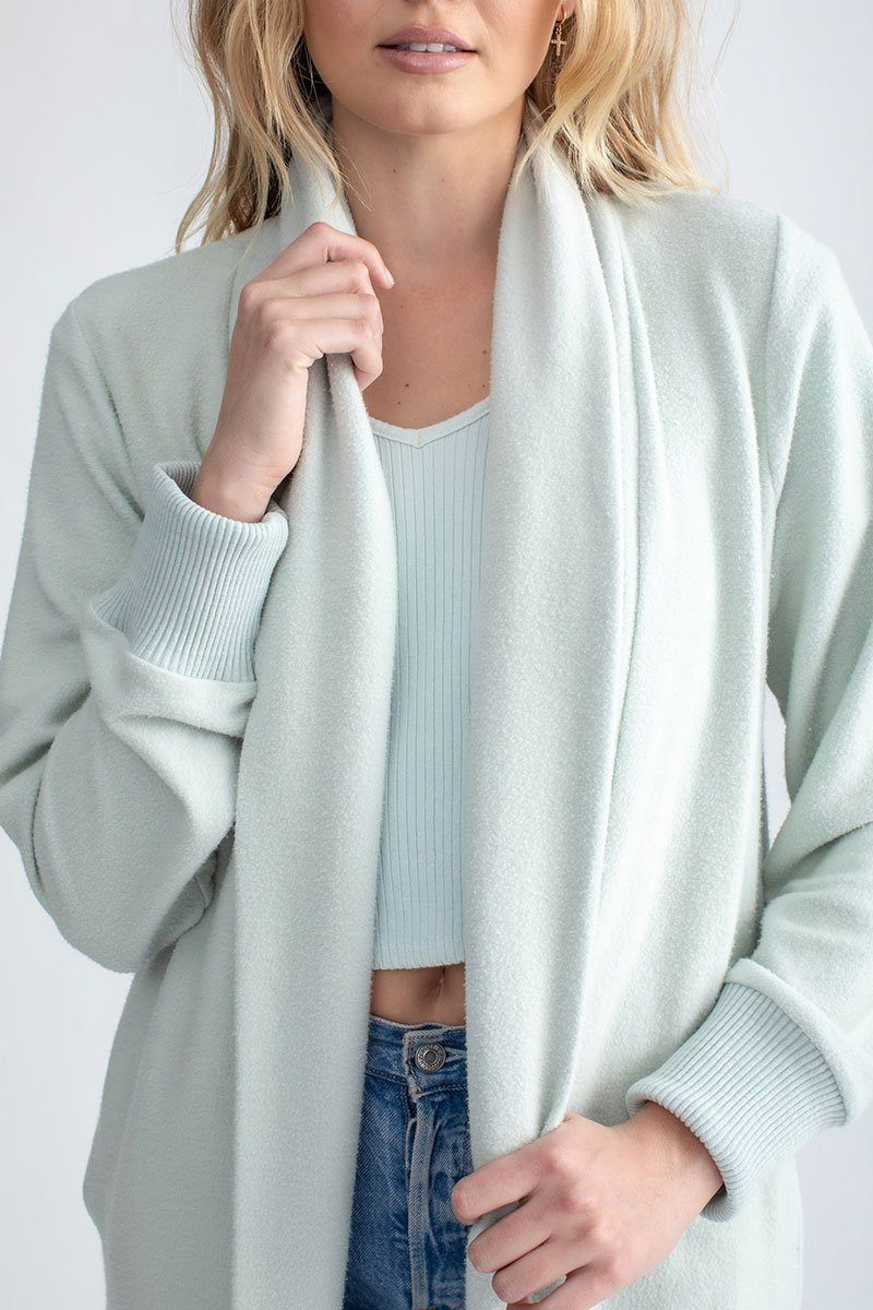 Cozy Long Cardigan Dew