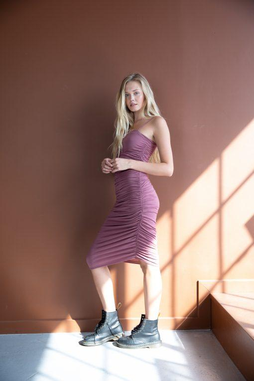 Shirred Cami Dress - AMVI Collection