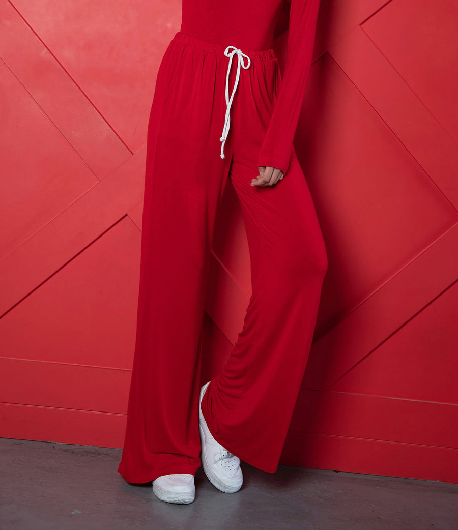 Red Super Lounge Pants