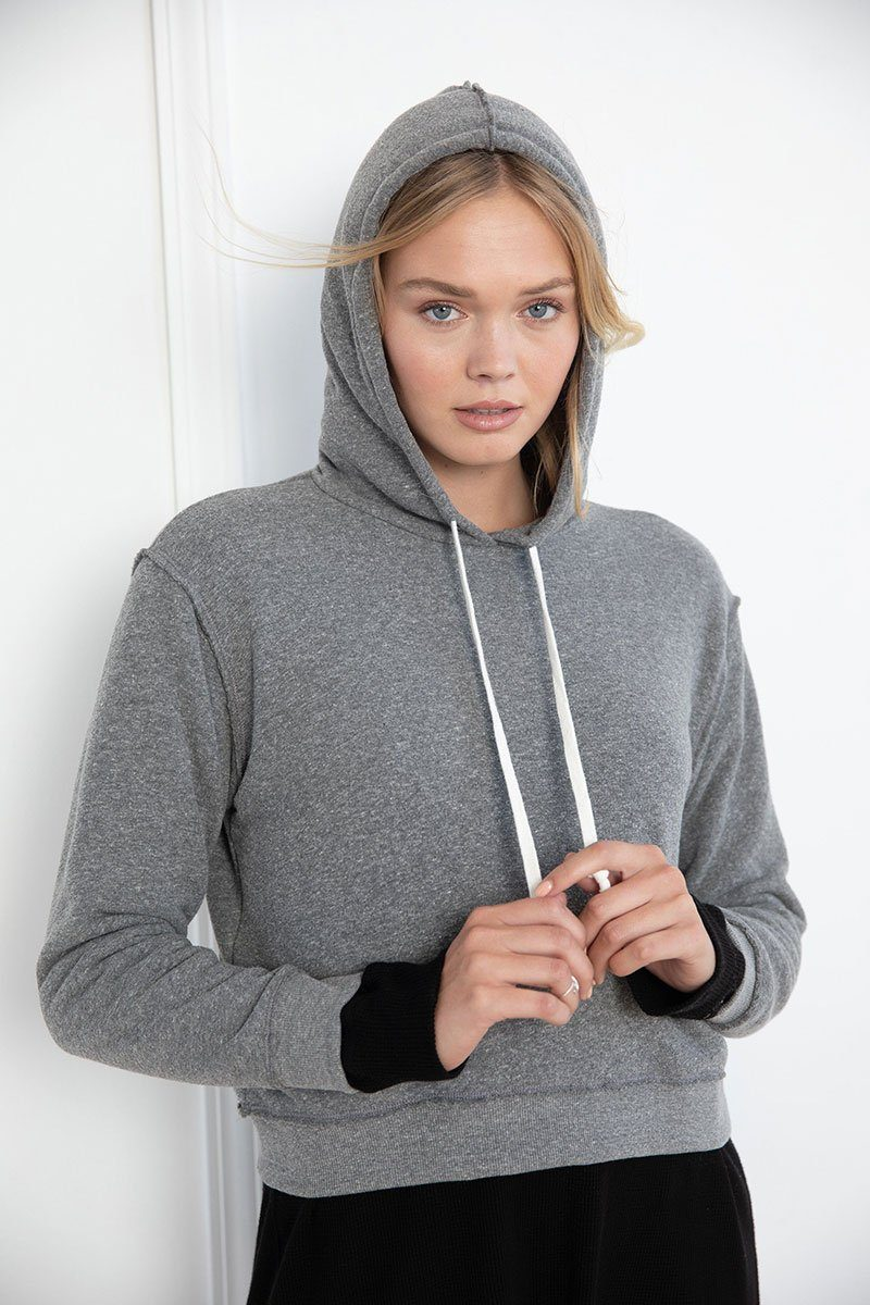 Heather Grey Relaxed Hoodie