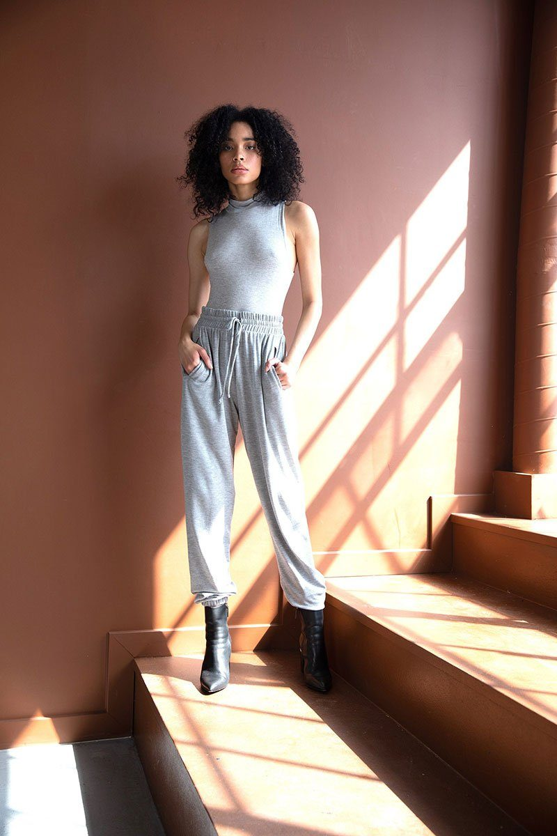 Heather Grey Pocket Lounge Pants