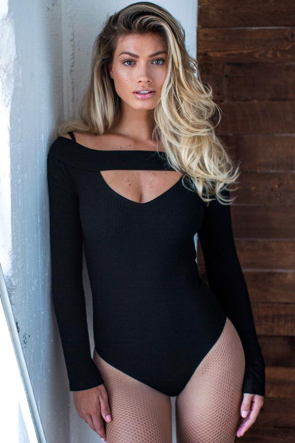Cut Out Bodysuit