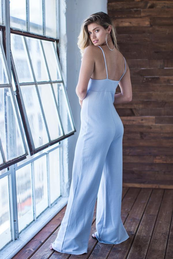 Cami Wide Leg Jumpsuit - AMVI Collection