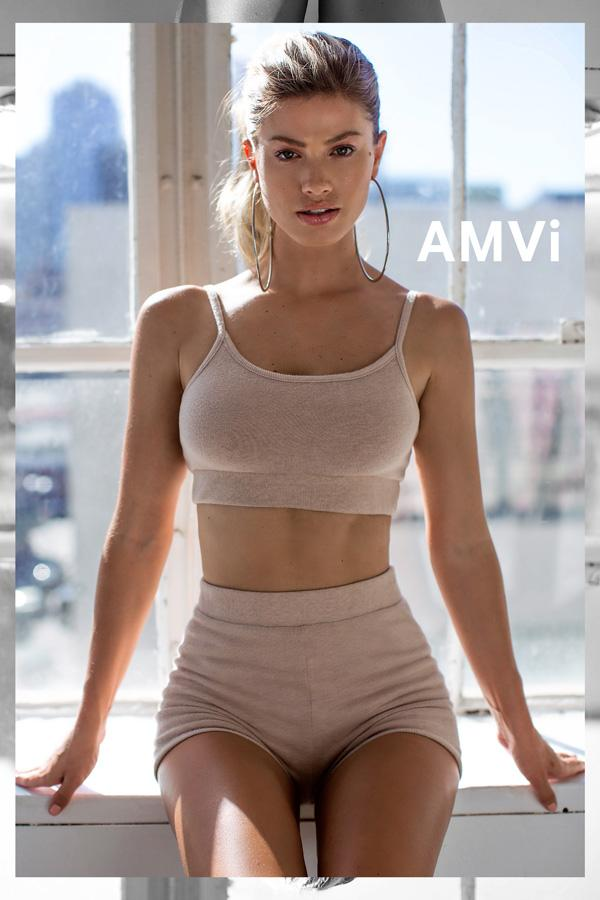 Cami Bralette - Lounge Cami Bra | AMVI Collection