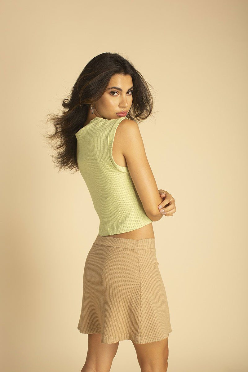 Tan Tennis Skirt