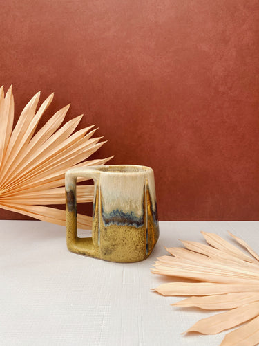 Unique Dip-Dyed Mug