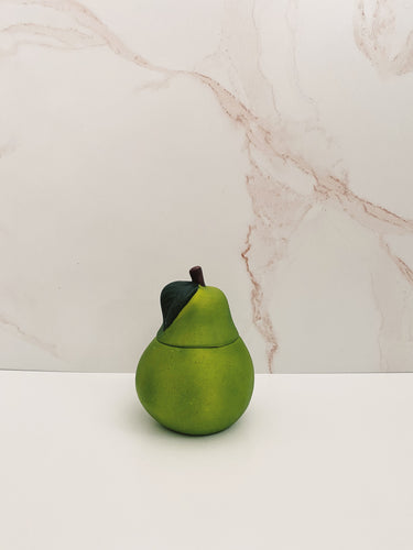Ceramic Pear Candle