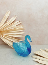 Load image into Gallery viewer, Blue Iridescent Swan