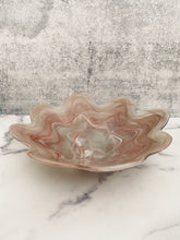 Load image into Gallery viewer, Large Pink Wavy Bowl