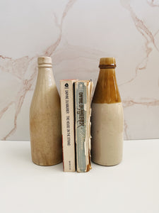 Beige Ceramic Bottles