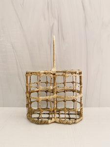 Wicker Shower Caddy