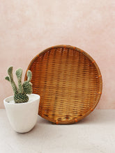 Load image into Gallery viewer, Orange-Brown Wicker Basket