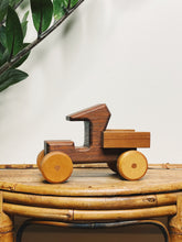 Load image into Gallery viewer, Wooden Toy Truck