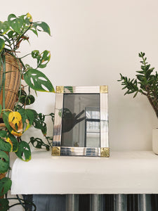 Silver and Gold Picture Frame