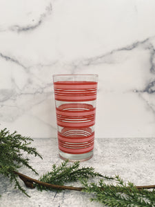Candy Cane Glass