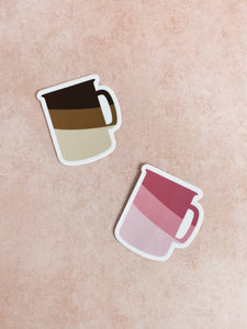 Coffee Mug Sticker Pack