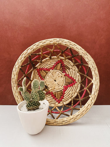 Intricate Woven Basket