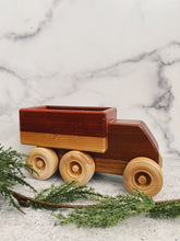 Load image into Gallery viewer, Large Wood Toy Truck