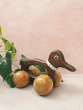 Load image into Gallery viewer, Wooden Duck Toy