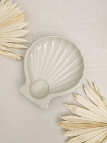 Ceramic Hall Seashell Dish