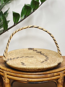 Woven Tray with Handle