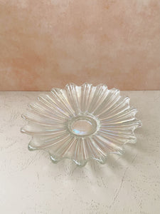 Glass Iridescent Tray
