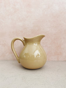 Beige Pitcher