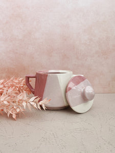 Pink Ombre Sugar Bowl