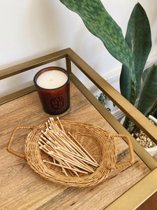 Small Wicker Tray