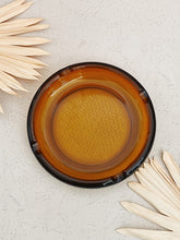 Load image into Gallery viewer, Large Amber Glass Ashtray