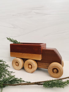 Large Wood Toy Truck