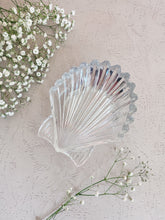 Load image into Gallery viewer, Vintage Glass Seashell Dish