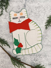 Load image into Gallery viewer, Holiday Cat Trivet