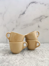 Load image into Gallery viewer, Set of 4 Beige Tepco Mugs