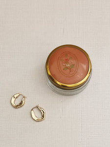 Vintage Floral Pillbox
