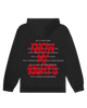 CIVIL RIGHTS HOODIE - BLACK