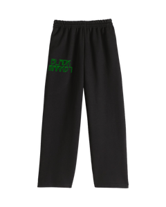 DIGITAL MARKET SWEAT PANTS - BLACK