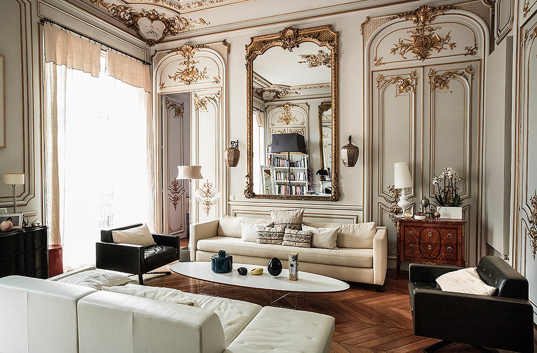 baroque details french decor