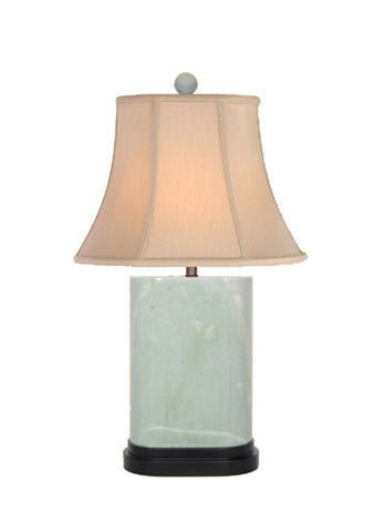 oriental jade table lamp