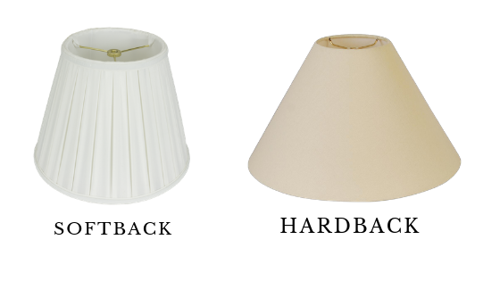Soft or Hardback Lamp Shades