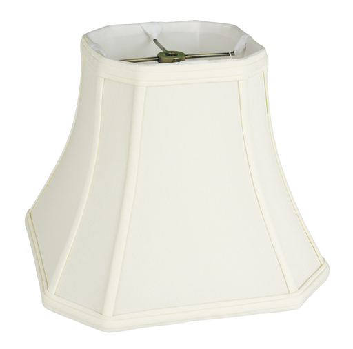 Cut Corner Square Anna Faux Silk Lampshade