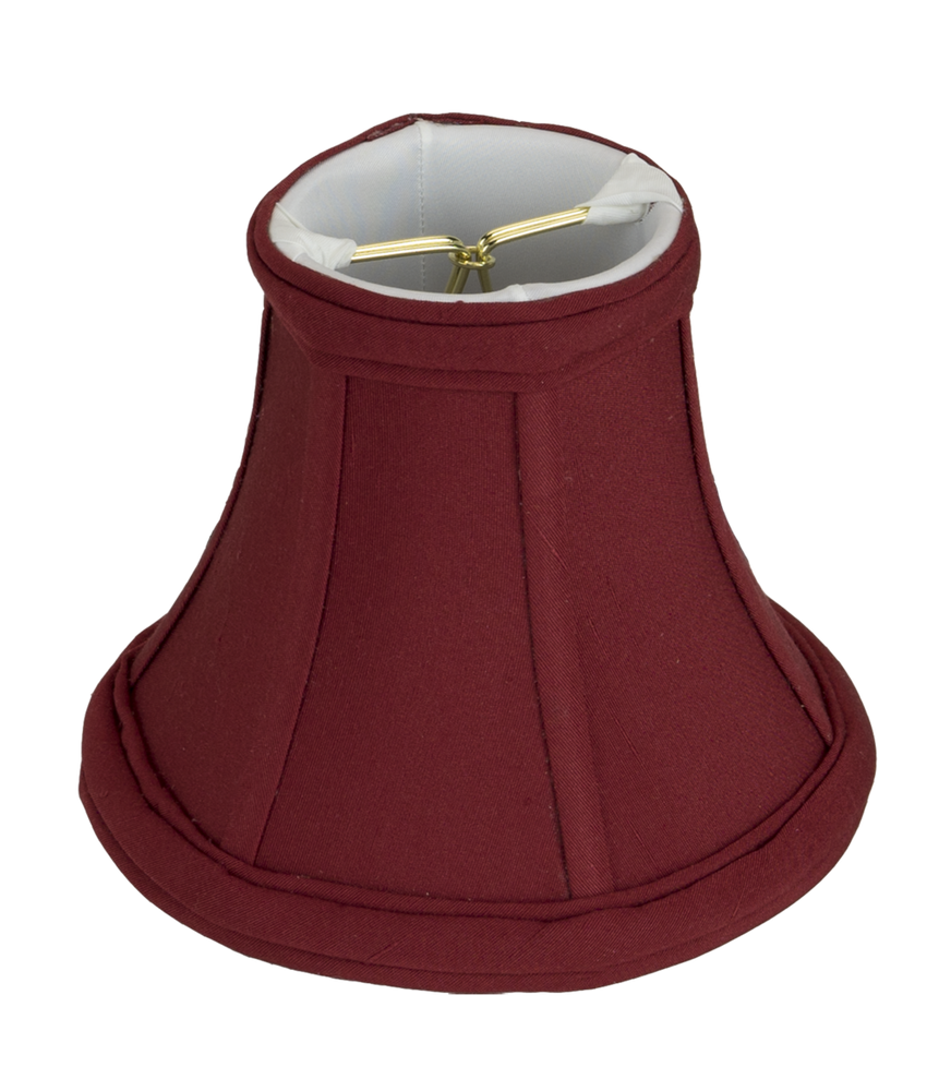 Mini Bell in Shantung Silk Lampshade