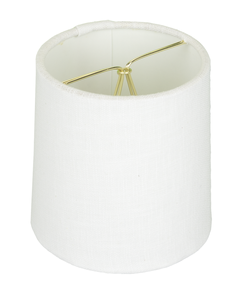 Mini Drum Hardback in Linen Lampshade