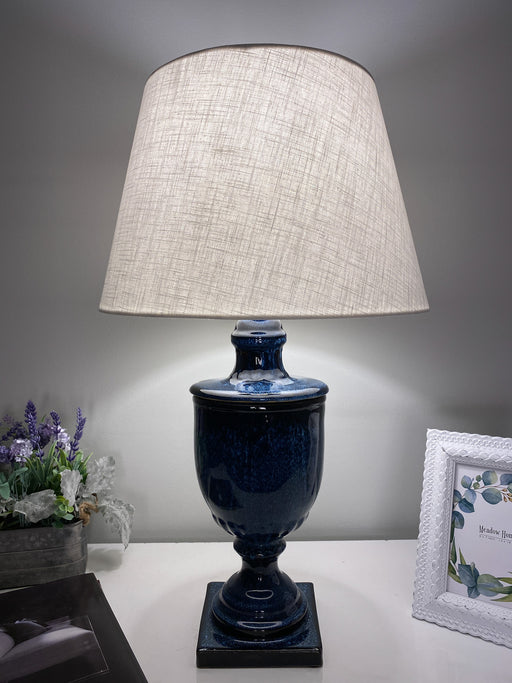 Deep Blue Table Lamp