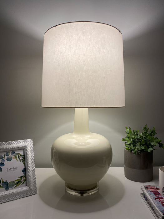 Cream Ceramic Table Lamp