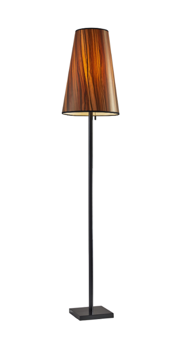 Wood Ava Floor Lamp