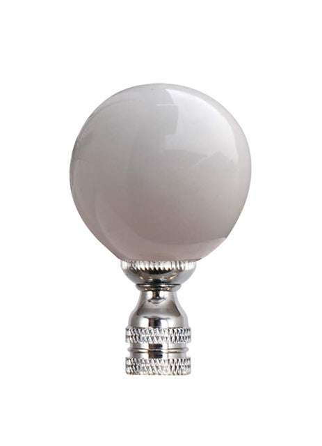 White Porcelain Finial