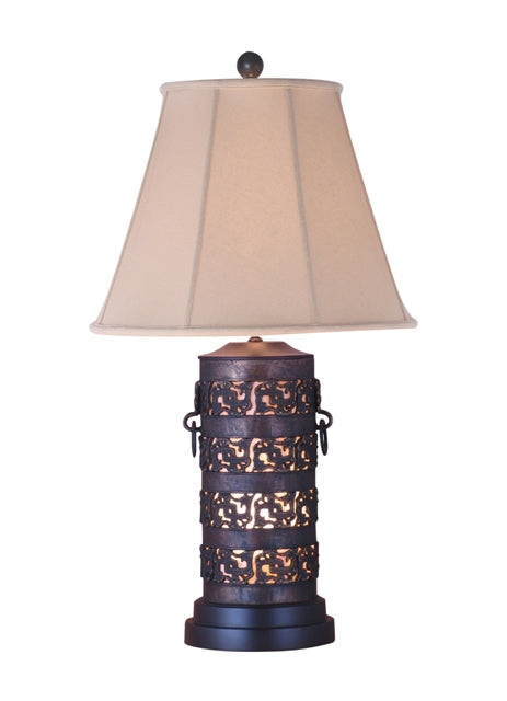 Solid Casting Bronze Table Lamp