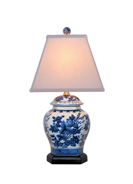 Porcelain Wheatleigh Jar Blue and White Table Lamp